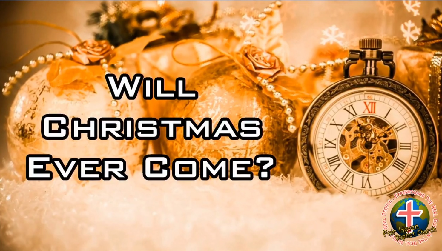 Will Christmas Ever Come?