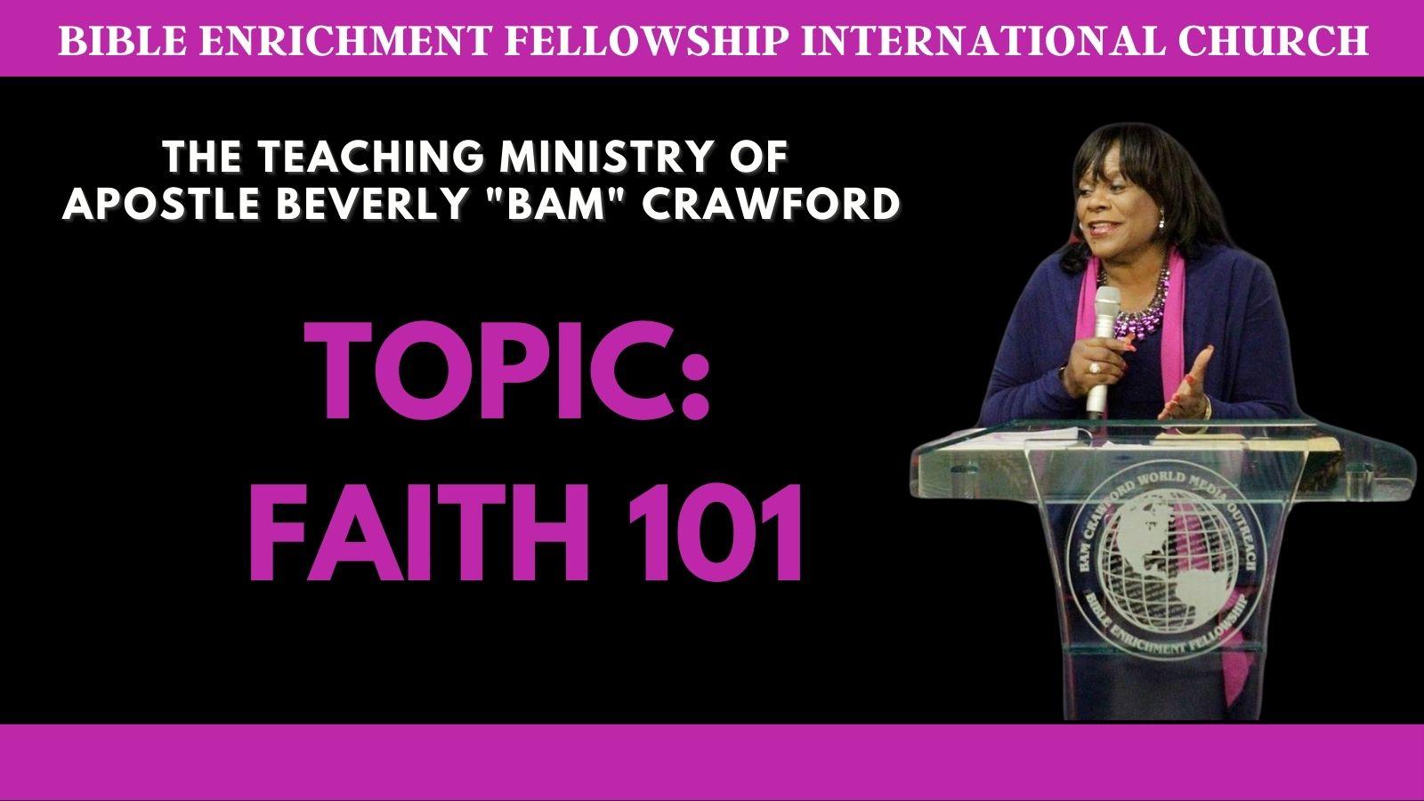 Faith 101 - Part 1