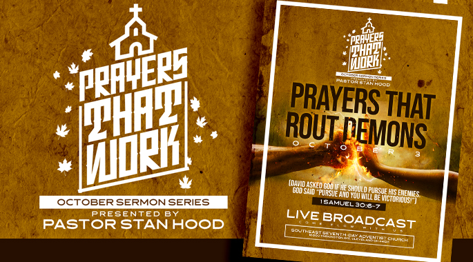 Prayers That Rout Demons Oct Sermon Series