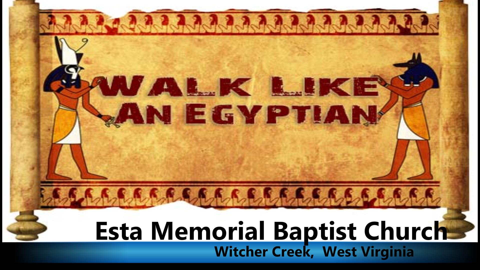 Walk Like Egyptian