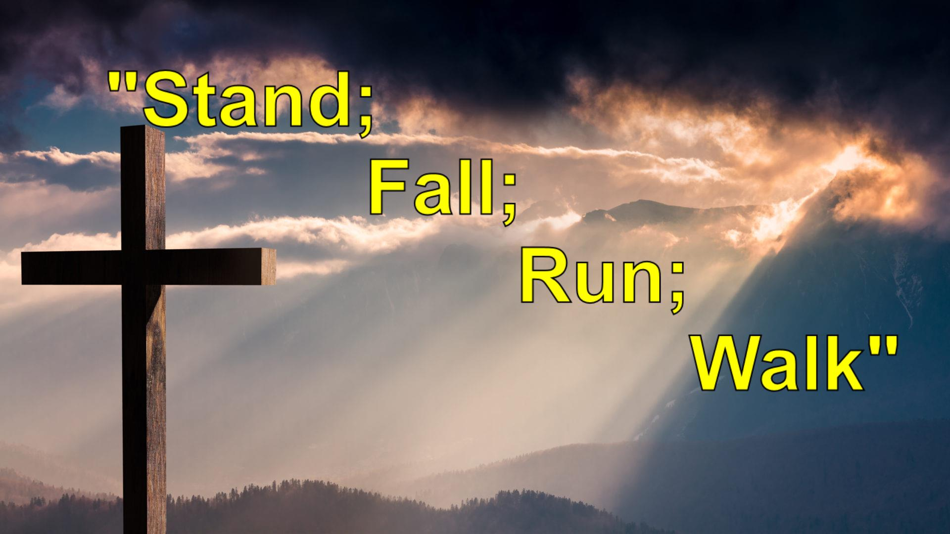 Stand; Fall; Run; Walk