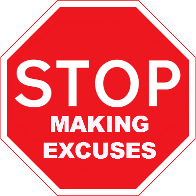NO EXCUSE'S