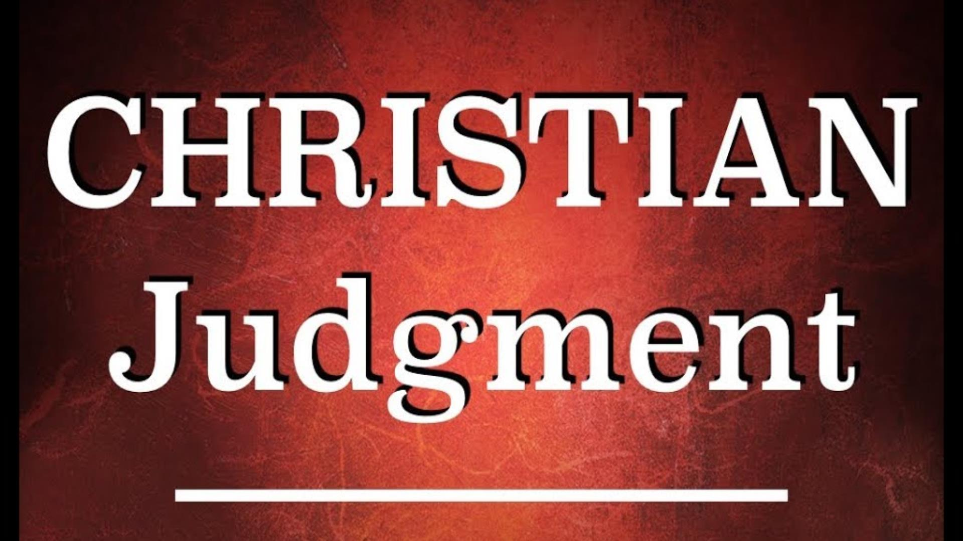 Christian Judgment