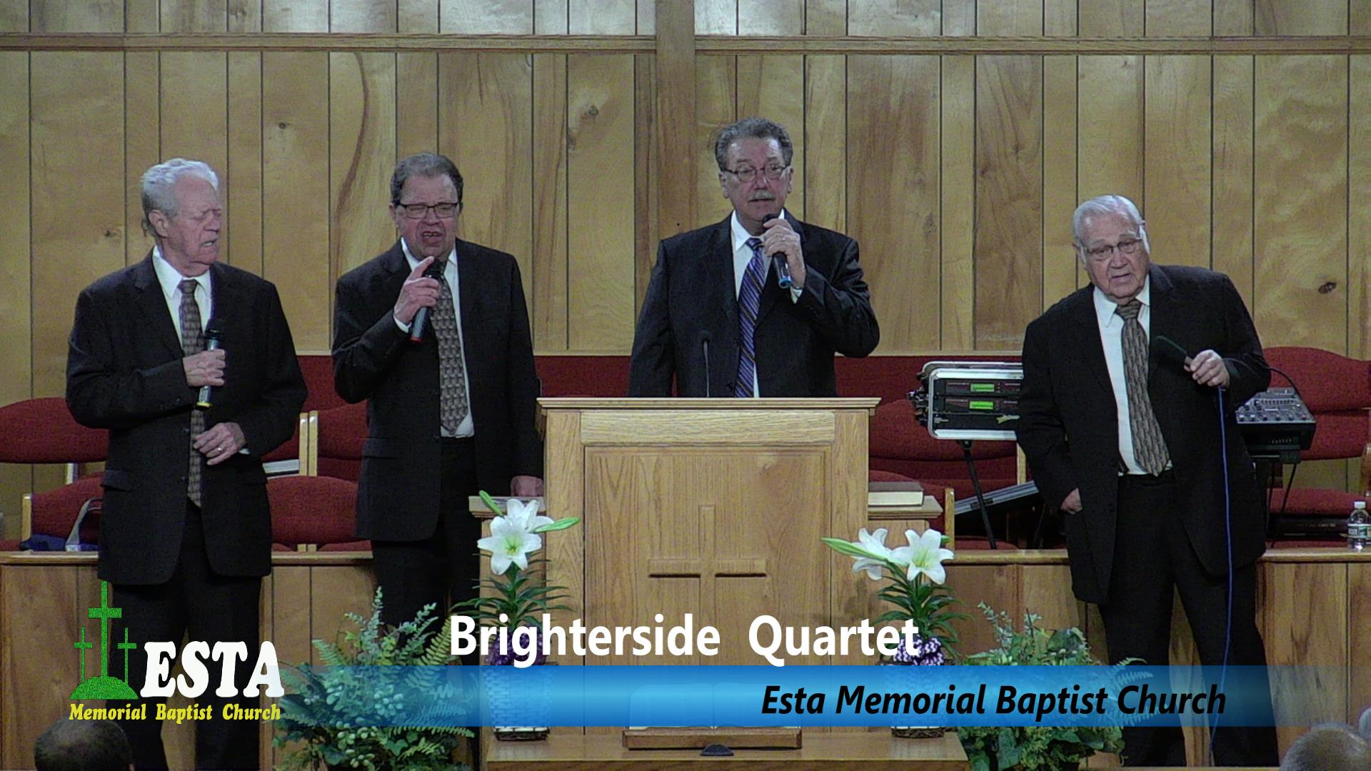 Brighterside Quartet at Esta