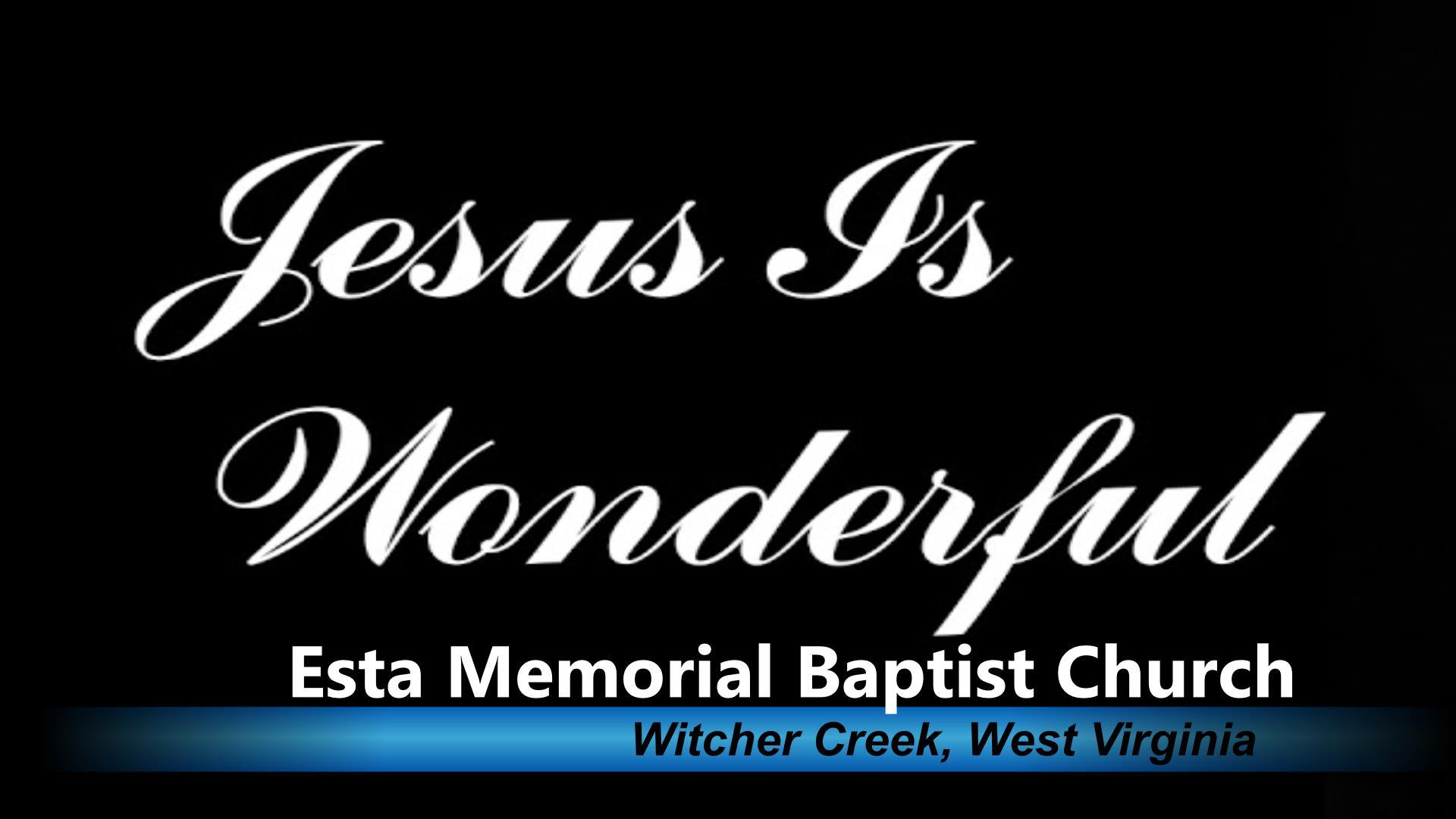 JESUS IS WONDERFUL