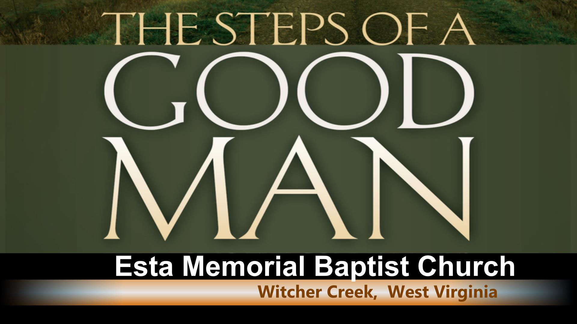 Steps Of A Good Man