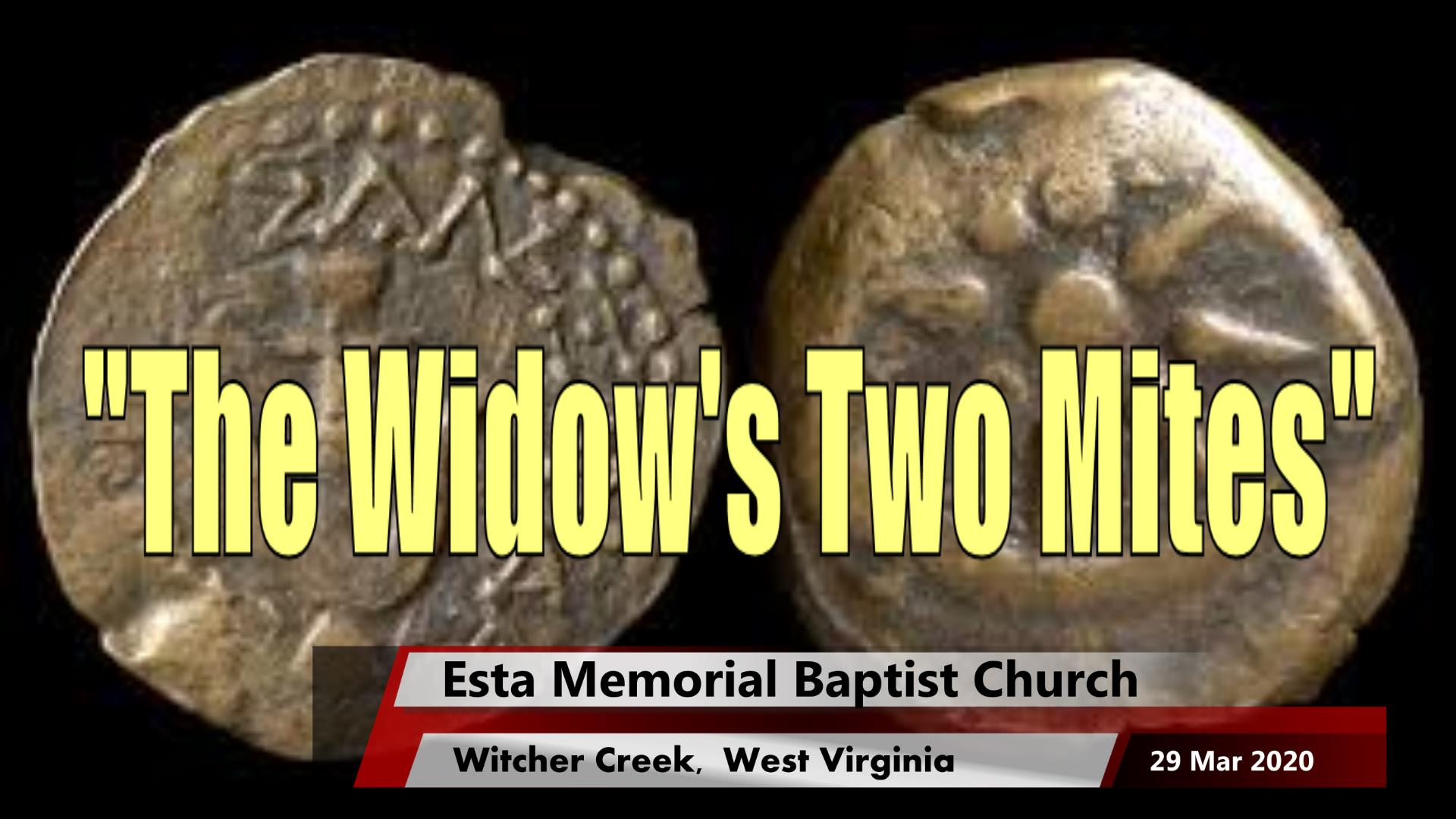 The Widow's Two Mites