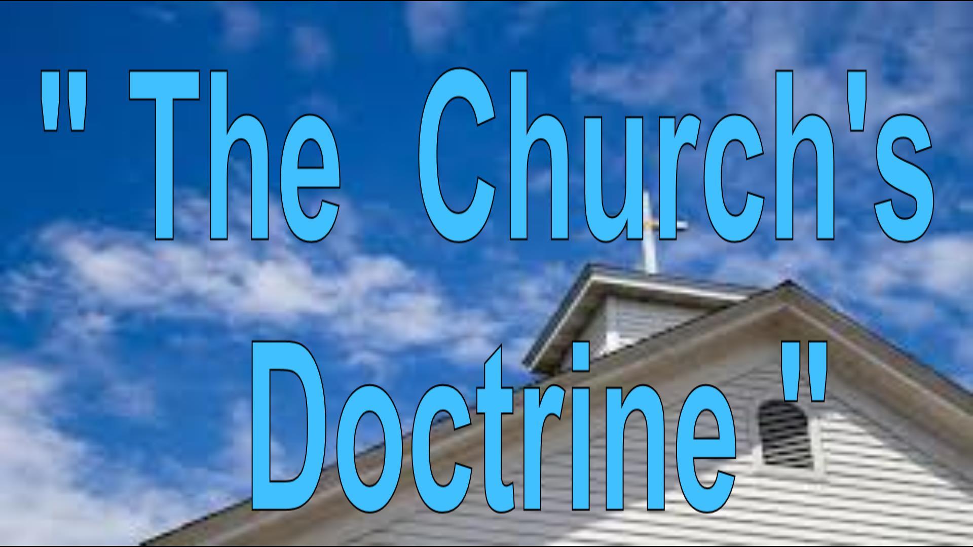 The Church Doctrine