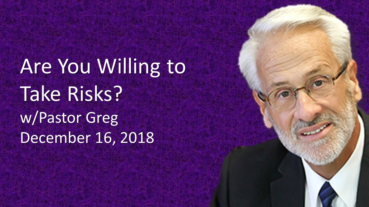 Are You Willing To Take Risks
