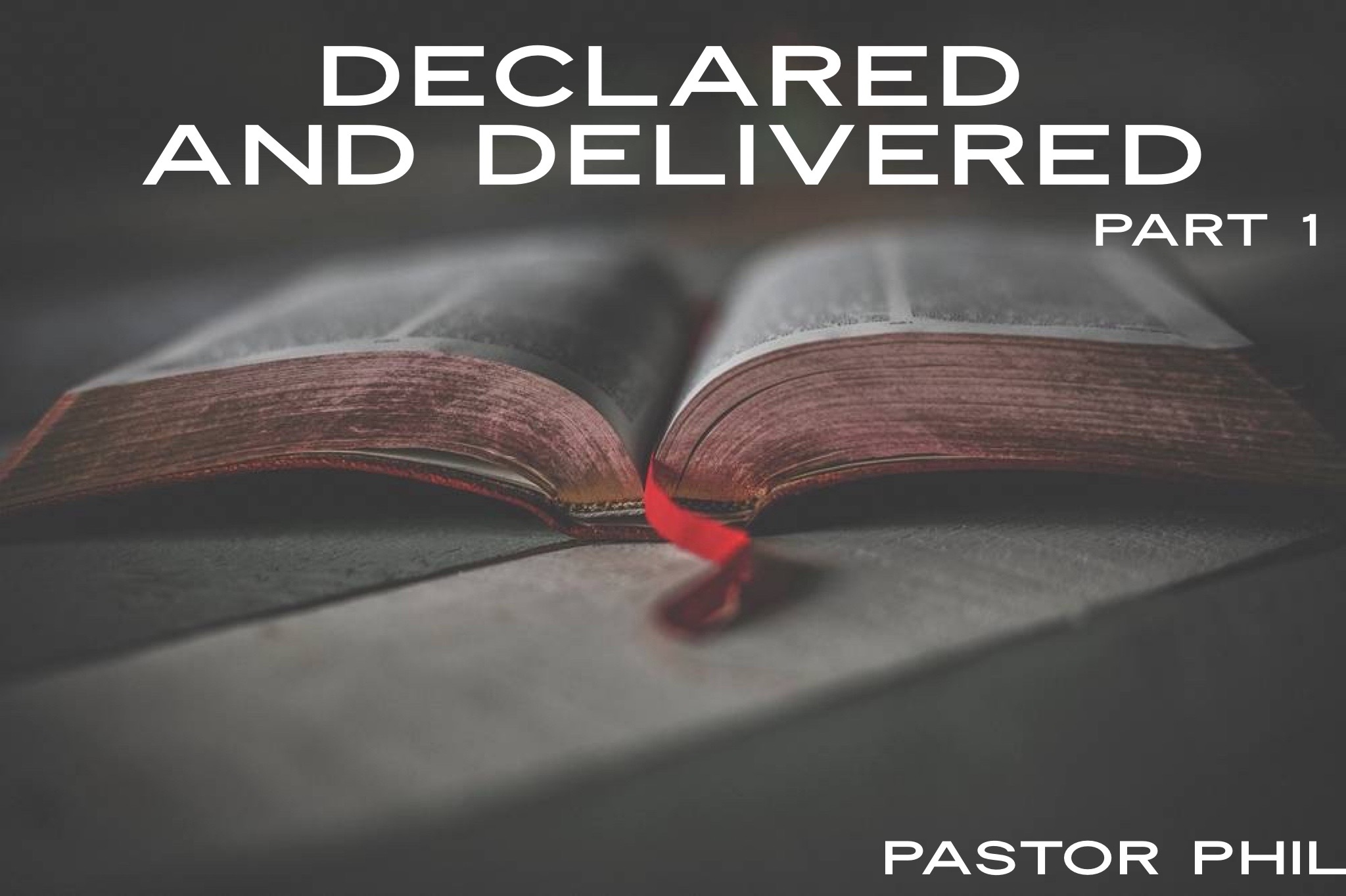 Declared and Delivered Pt 1