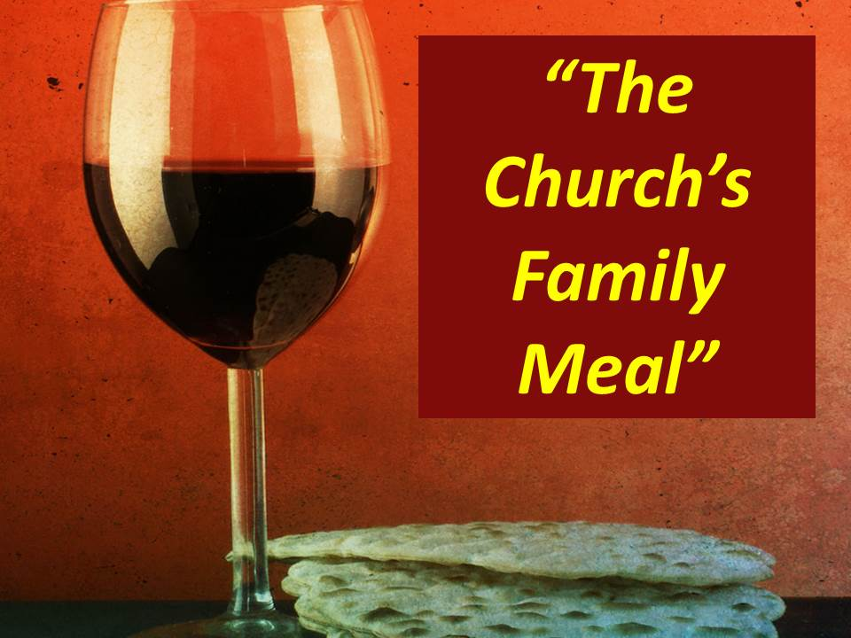The Church's Family Meal