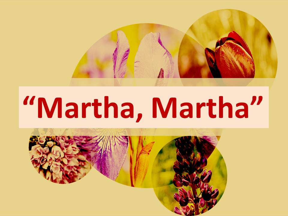 Martha, Martha