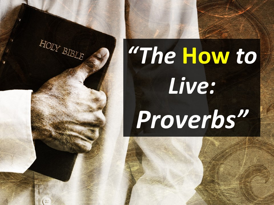 The How to Live--Proverbs