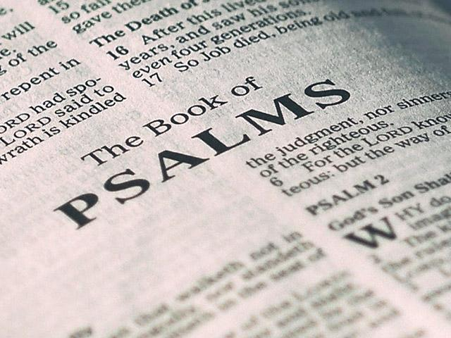 Psalms of Praise--Psalms 118; 8