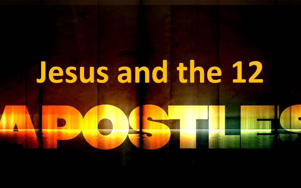 Jesus and the 12 Apostles