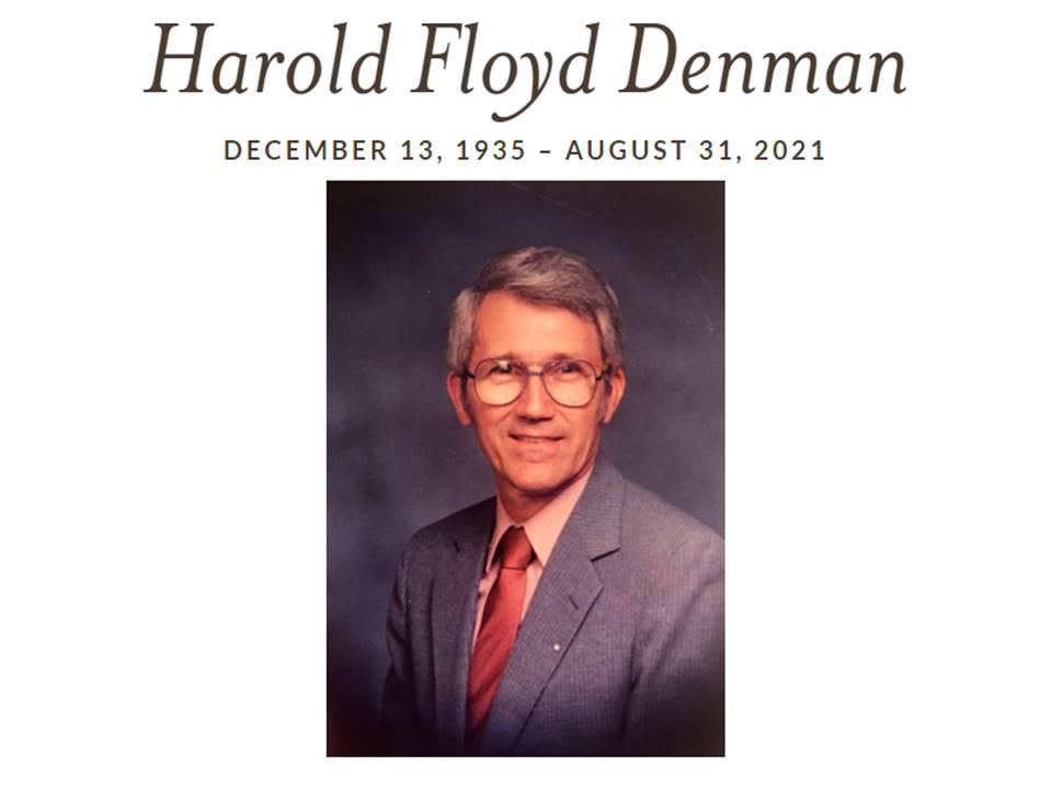 Harold Denman Funeral