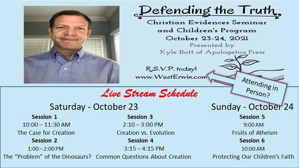 Christian Evidences Seminar