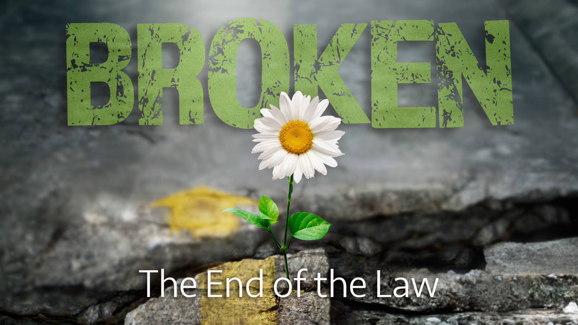 The End of the Law