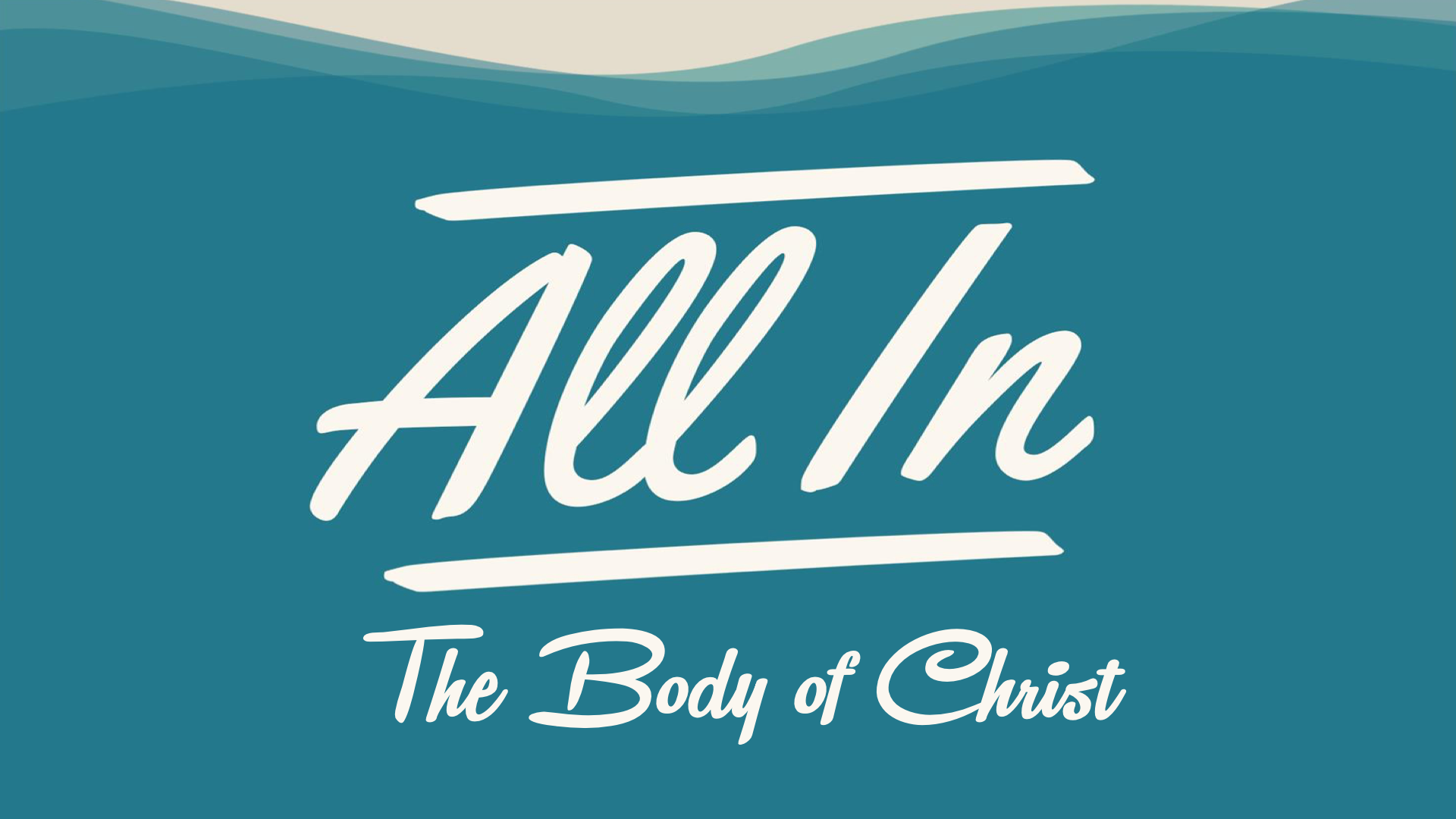 All In The Body of Christ