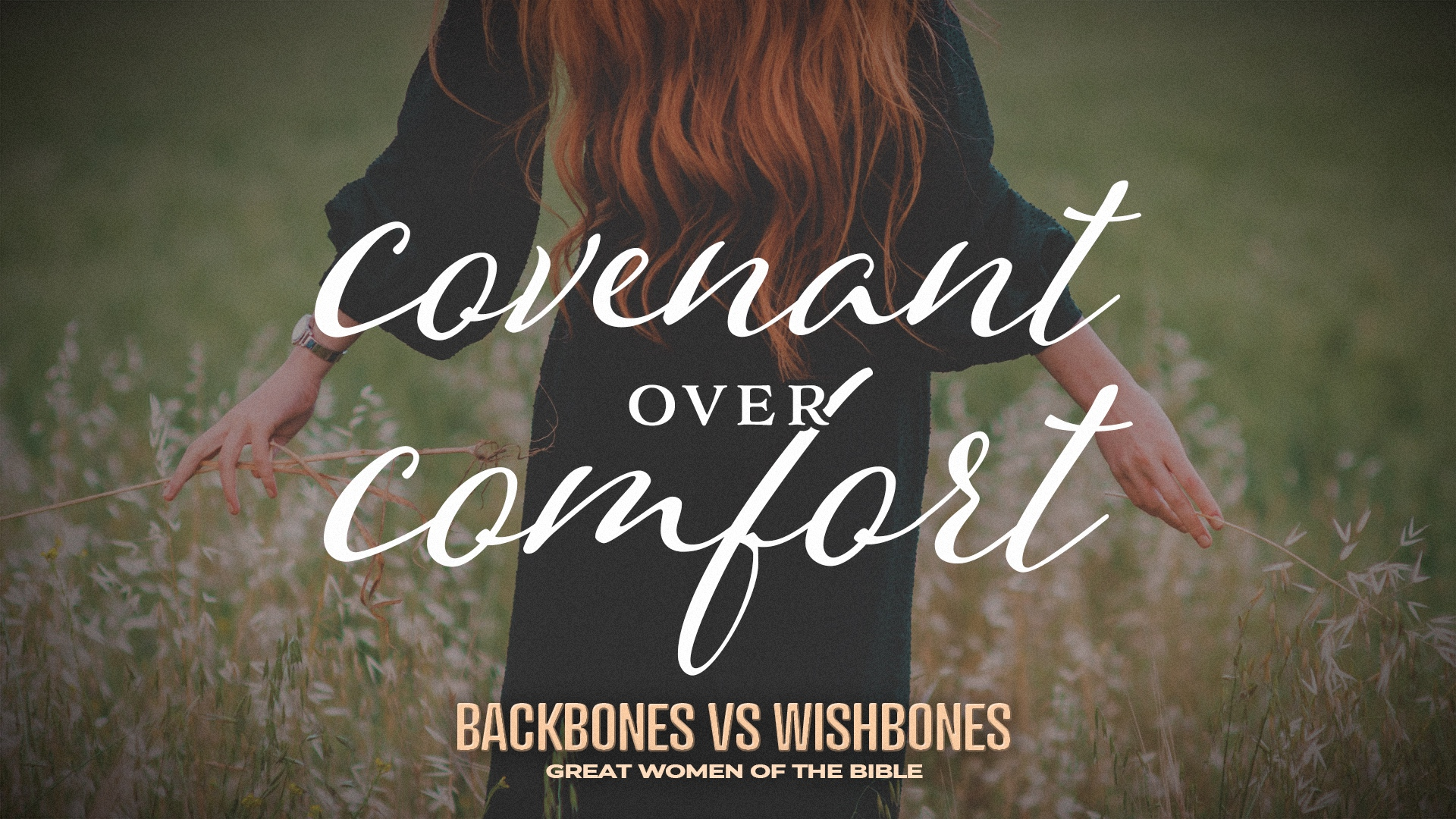 Covenant Over Comfort