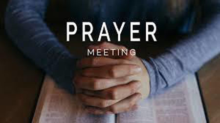 Prayer Meeting  August 26 2020