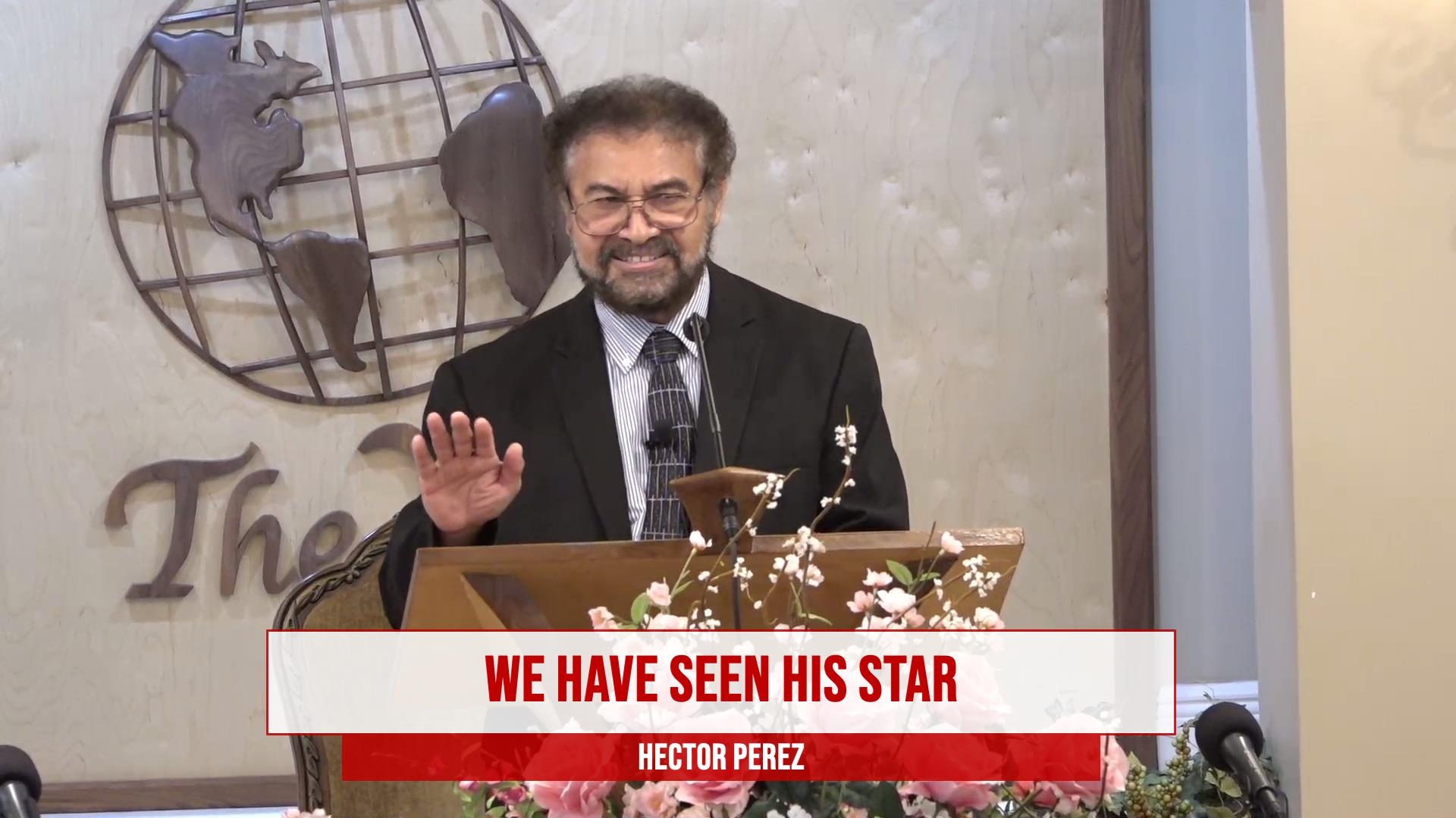 We Have Seen His Star  Dec 26 2020