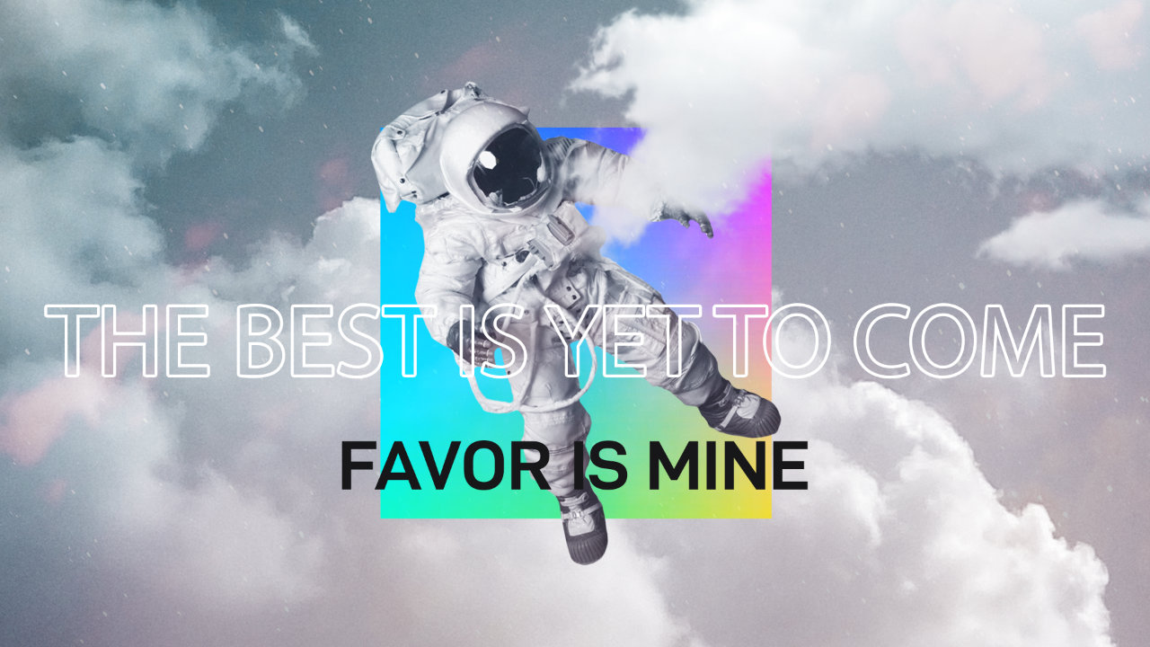 Favor Is Mine