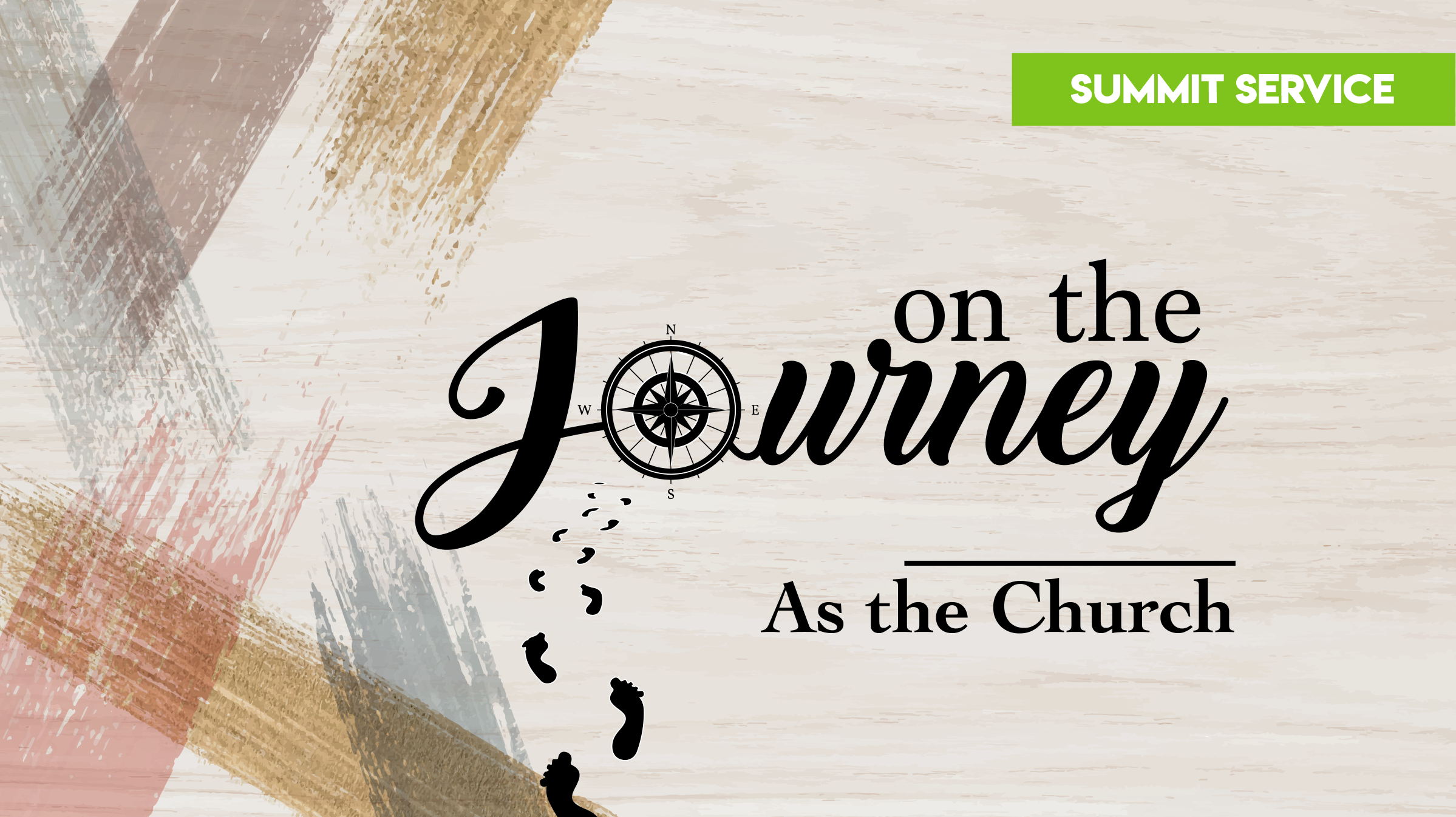 On The Journey: As The Church