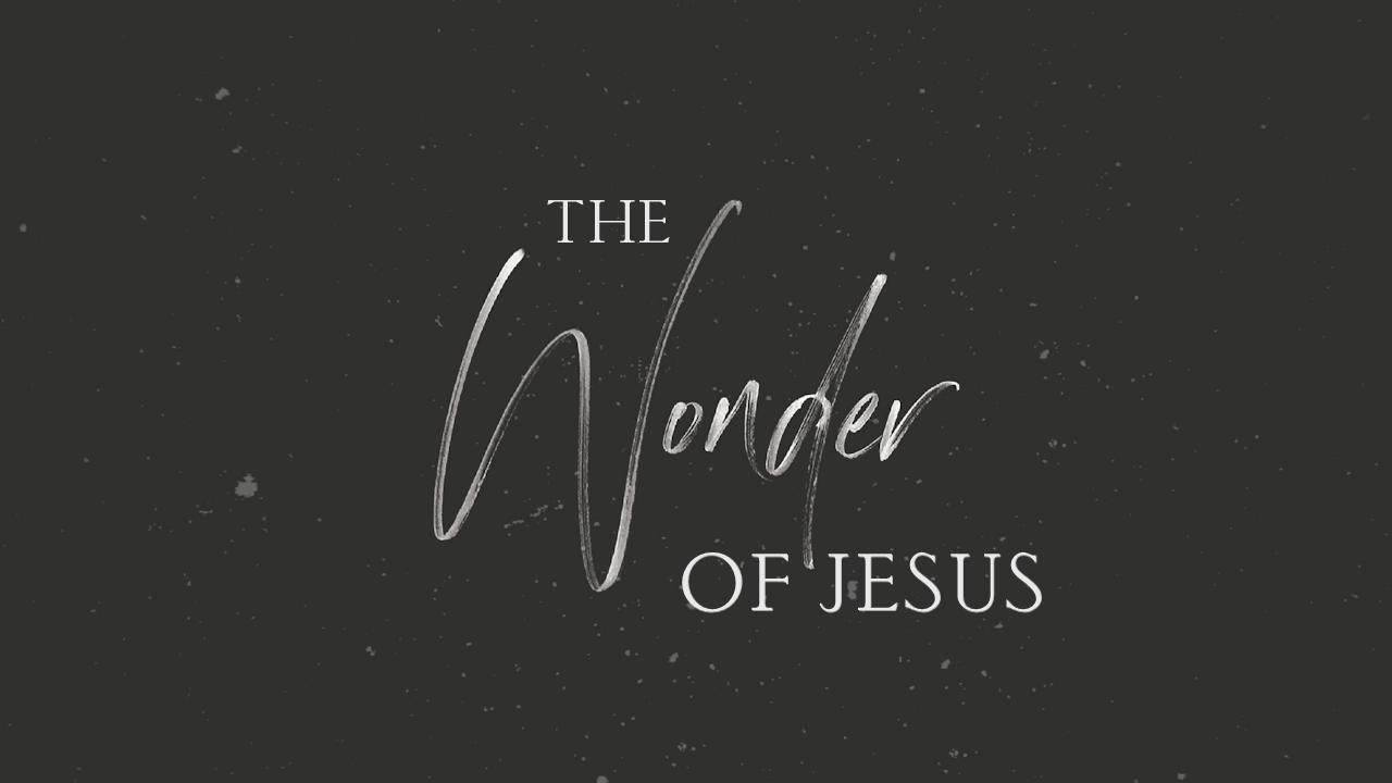 The Wonder of Jesus 030721