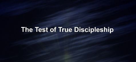 The Test of True Discipleship