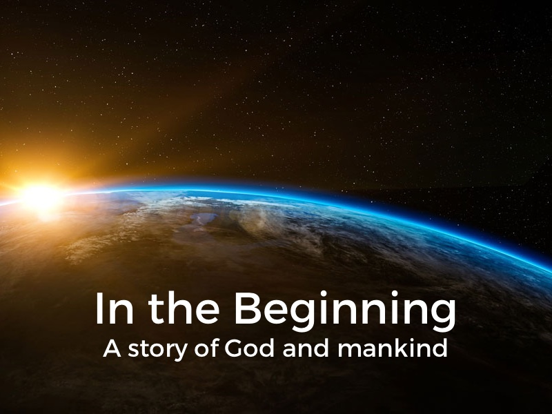 In the Beginning A Man and a Mission
