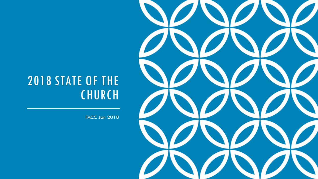 2018 State of the Church