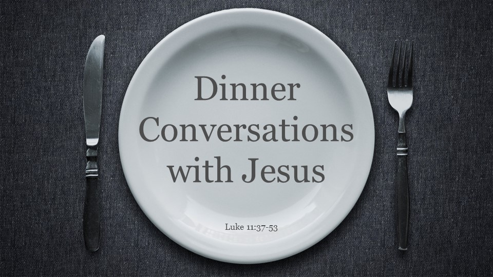 Dinner with Jesus the Prophet
